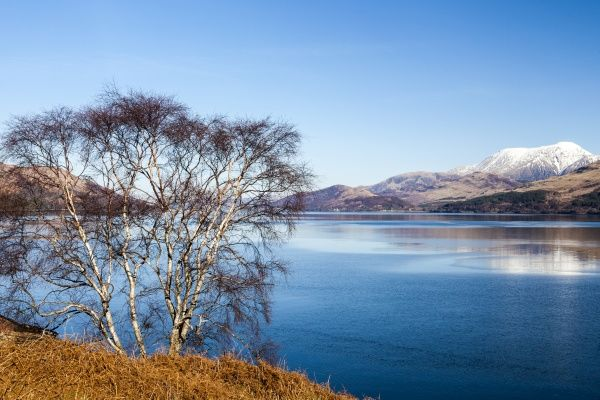 The view to Ben Nevis from Ardgour, Scotland